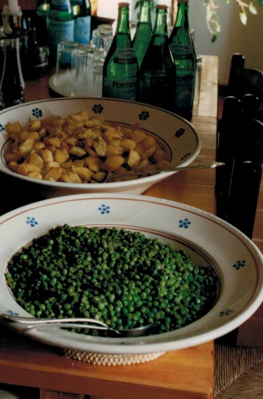 Gemüsesorten gab es in einer Form, die ich nicht kannte.