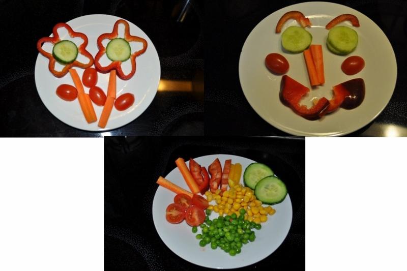 Sommerteller mit saisonalem und regionalem Gemüse