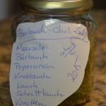Bärlauch-Chili-Salz